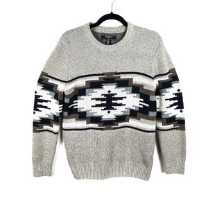 Forever 21 Men Crewneck Pullover Holiday Sweater